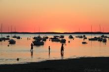 Coucher de soleil Andernos les Bains ,France