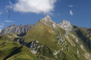 fin dété montagnes Pyrénées,France