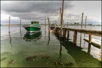 image bateau en bois bassin d'arcachon