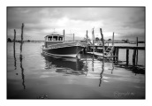 bateau pour ostréiculture et peche