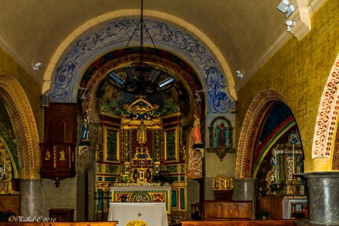 Patrimoine de France,église village des Pyrénées Atlantiques