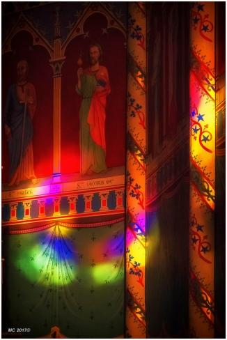lumière de vitraux