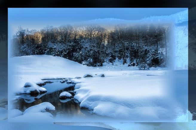 neige et soleil en montagnes nfrance