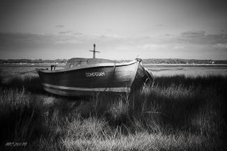 Photographie,image de bateau ,Jane de Boy , Claouey