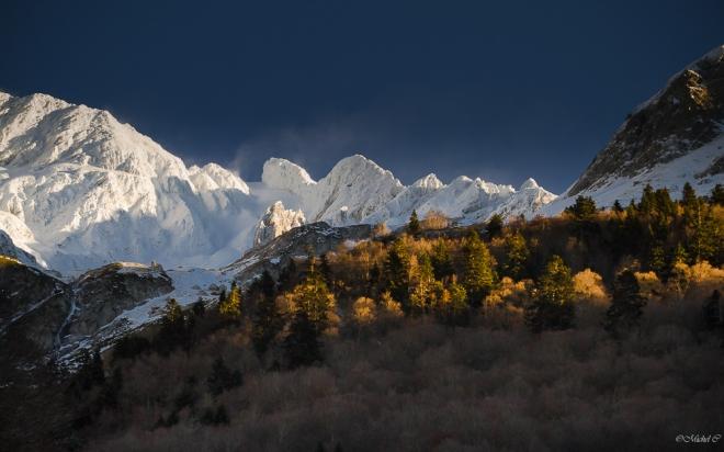 Couleurs d'automne sur les Pyrénées