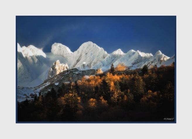 Couleurs de l'automne dans les Pyrénées